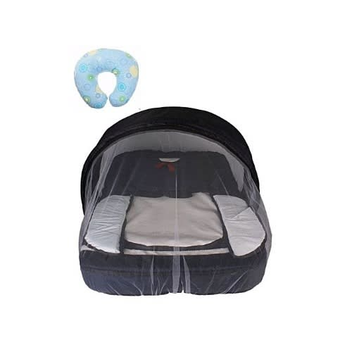 Convenient Baby Bed With Net And Nursing Pillow