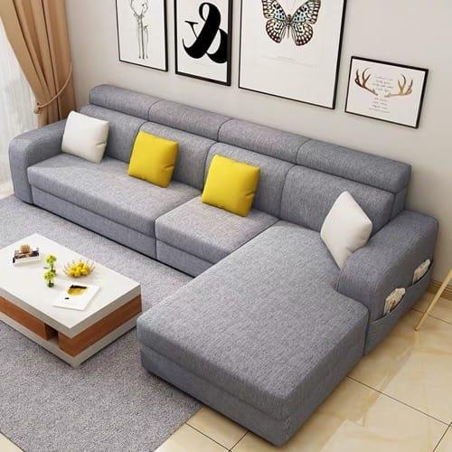 Mak Living Room Furniture Dorce L Shaped Sofa Grey Konga Online Shopping