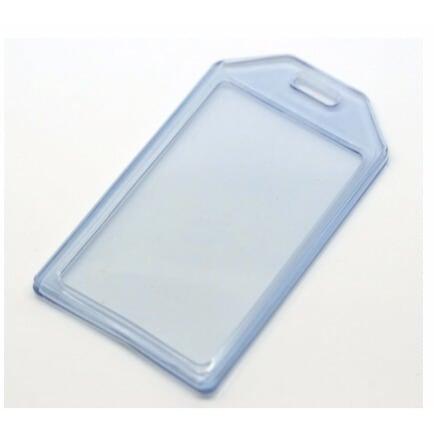 innovative design 0cda9 072b2 ID Card Holder - Transparent - by 12