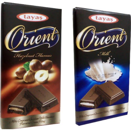 Orient Delicious Chocolate Bars - 2 Variants.