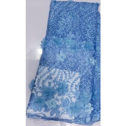 Netcord Lace - Light Blue - 5 Yards