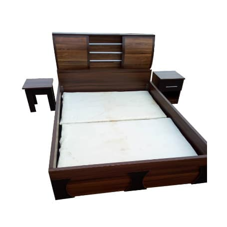 Luxury 6ft X 6ft Cupid Bed Frame With 2 Bed + Free Bed Spread