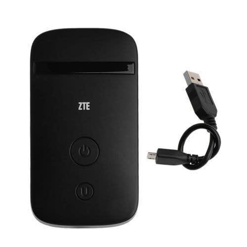 ZTE Mobile 4G LTE Universal Wifi Hotspot For All Networks -black