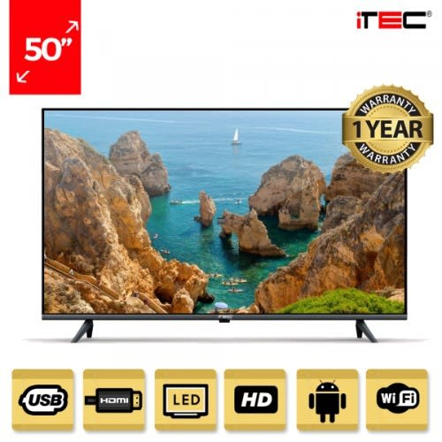 "50"" Uhd Smart Led Television + Free Wall Bracket."