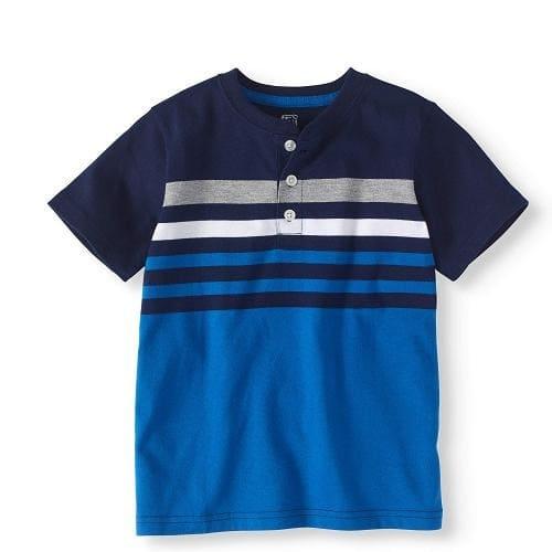 599858712 Garanimals 365 Kids Chest Striped Henley Boy T-shirt Top | Konga ...