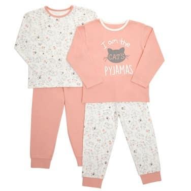 0d2c706cfca2 Girls Pyjamas - Pack Of 2