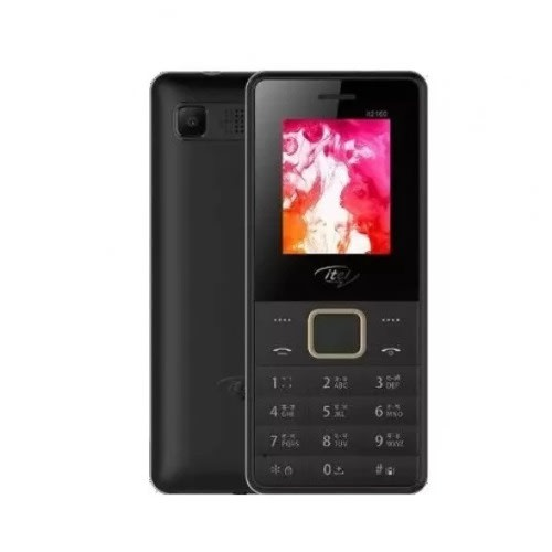 2160 Dual Sim Feature Phone - Black