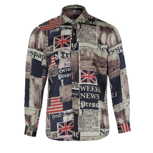 1552a63952de5d Herald Long Sleeve Vintage Shirt