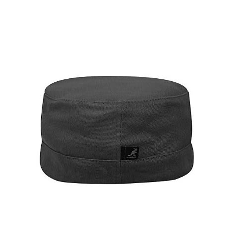 Cotton Twill Army Cap - Grey