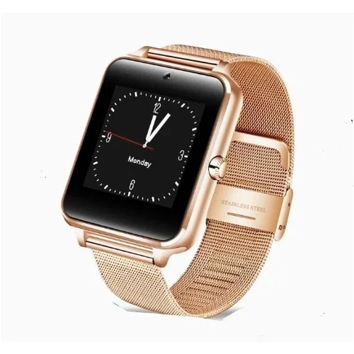 in corso Equivalente Vita  Stainless Steel Smartwatch - Gold | Konga Online Shopping