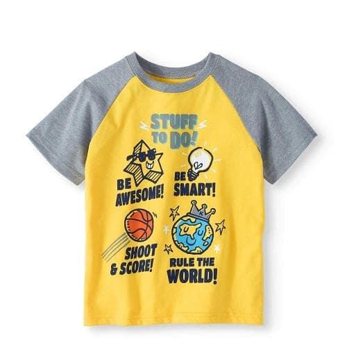 a9d4a1fe0 Garanimals 365 Kids Raglan Short Sleeve Boys T-shirt Top   Konga ...