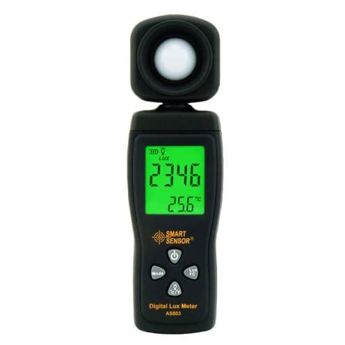 Handheld As803 Luxmeter Digital Light Meter Lux Meter