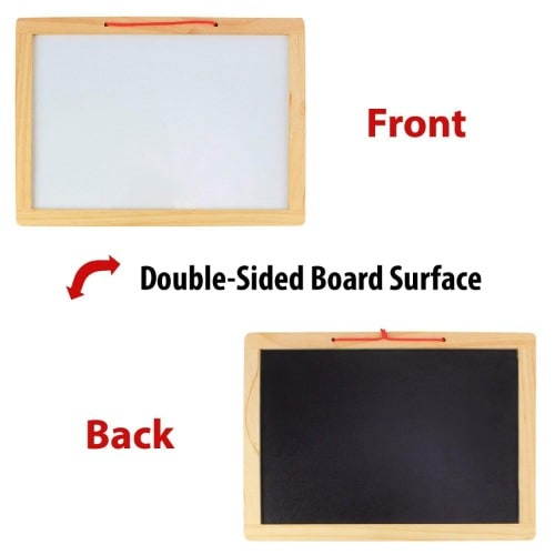Double Sided Board Surface For Kids 33cm By 33cm.