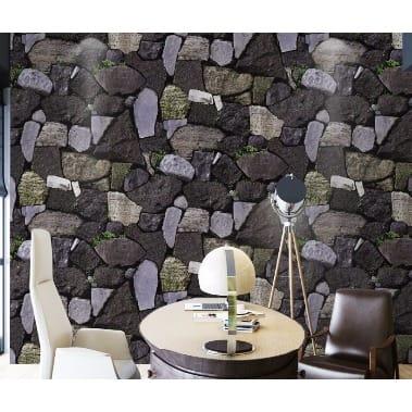 Lovely 3d Grey Stones Wallpaper