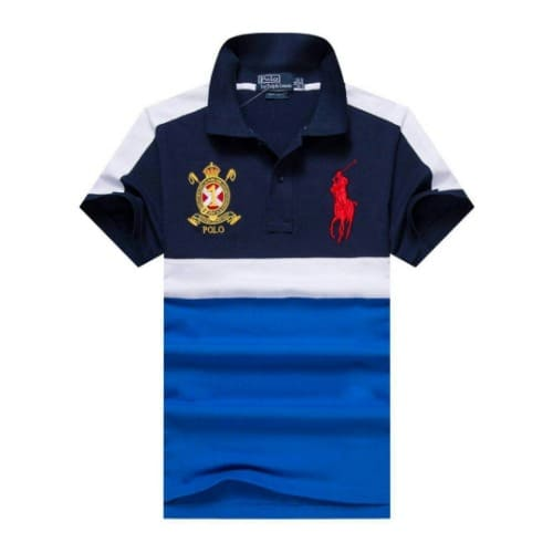 reputable site 0eace 23ce3 Ralph Lauren Blocked Colour Polo - Blue   Konga Online Shopping