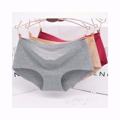 bb8c9d9074ed Ice Silk Seamless Panties - 6 Pieces | Konga Online Shopping