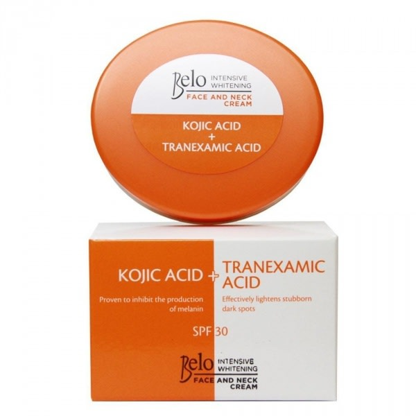 Intensive Whitening Face & Neck Cream Kojic + Tranexamic Acid - With SPF 30  50g