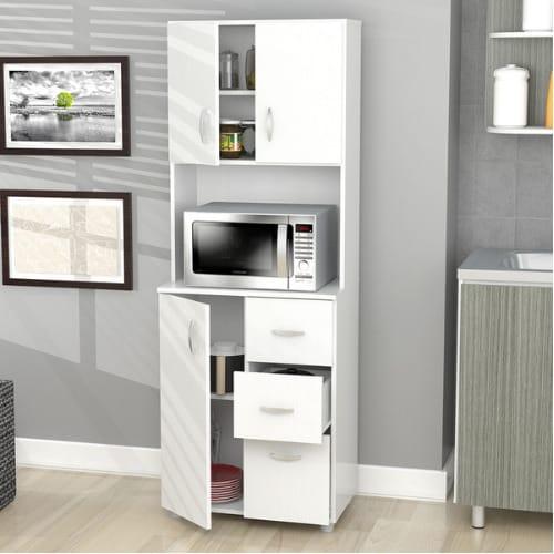 Inval Tall Kitchen Storage Cabinet
