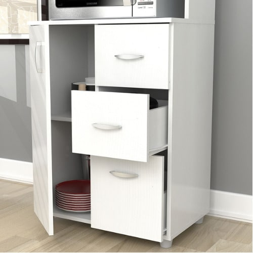 tall kitchen utility cabinets
