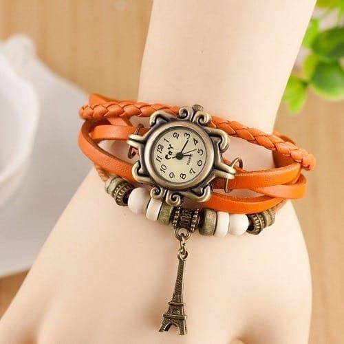 /I/r/Iron-Tower-Pendant-Braid-Bracelet-Leather-Watch---Orange-4149900_3.jpg