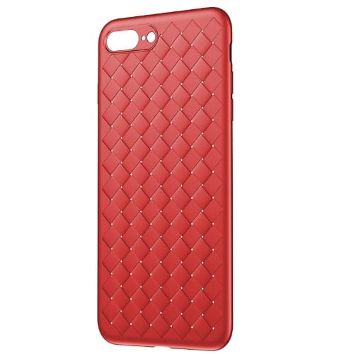 Protective Back Case For Apple iPhone 8,7 Plus , Red