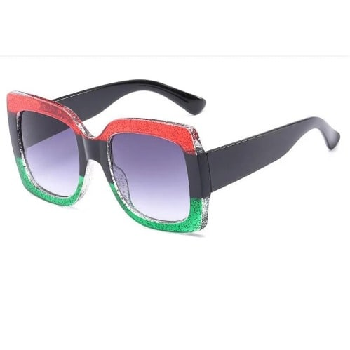 e32387ac753a Vintage Oversized Green Square Sunglasses | Konga Online Shopping
