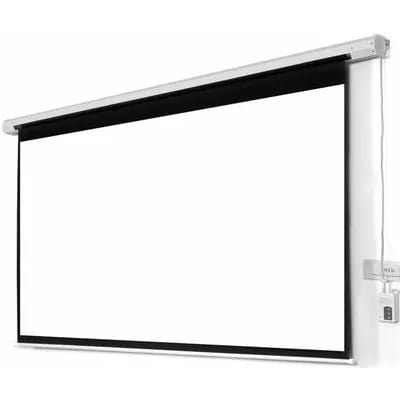 96 X 96 Electric & Remote Controlled Projector Screen