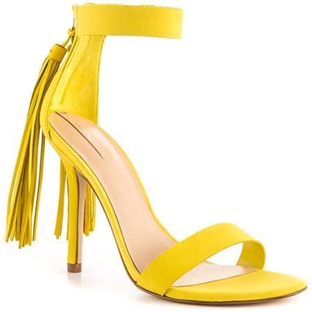 Aldo Celena Heeled Sandal - Yellow