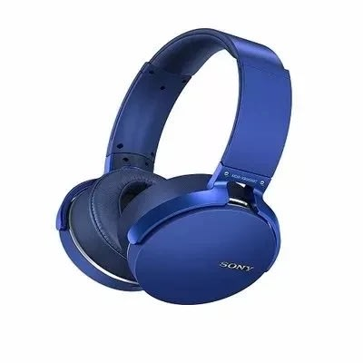Extra Bass Bluetooth Headphones - Blue