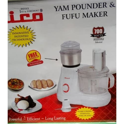 Fufu Maker And Yam Pounder