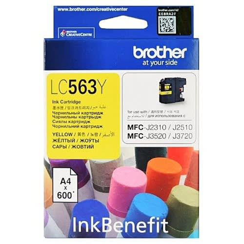 Lc563y Yellow Compatible Ink Cartridge