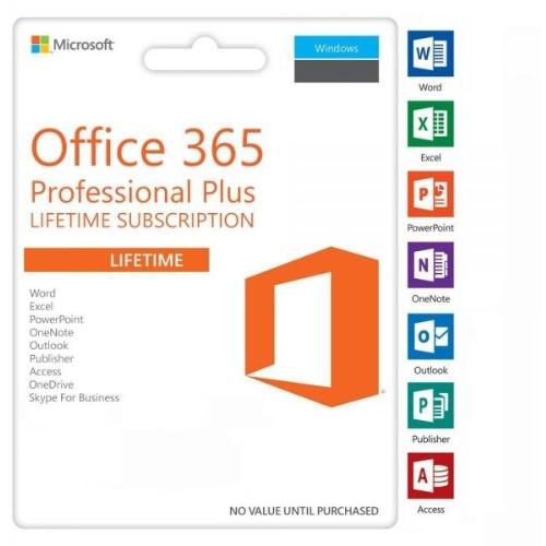 Office 365 Professional Plus 2019 - 5 Users - Windows Or Mac.