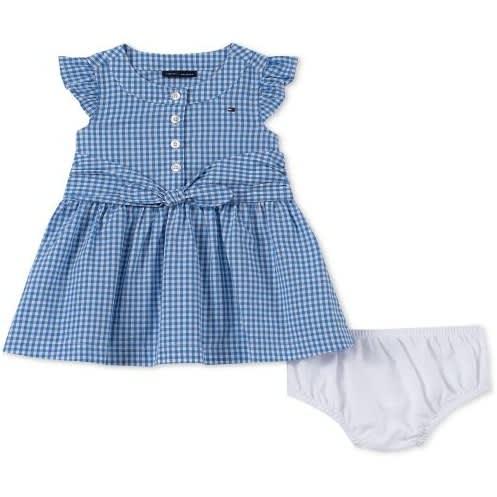 fairer Preis eine große Auswahl an Modellen günstiger Preis Baby Girls Cotton Gingham Shirtdress