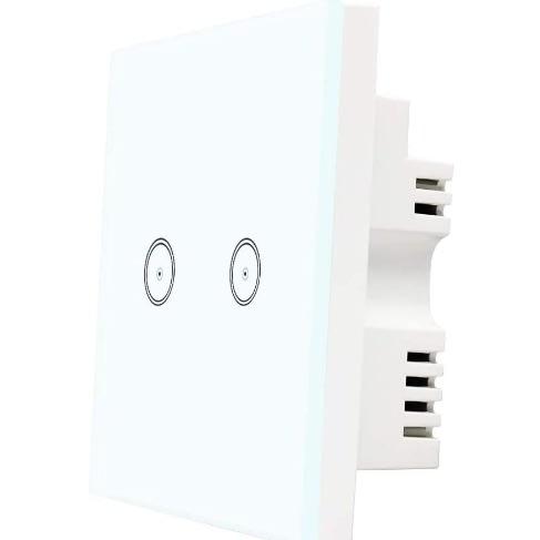 Tuya 2 Gang Way Wifi Smart Light Switch