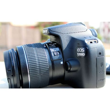 Canon 1200d Dslr Camera With 18-55mm Lens