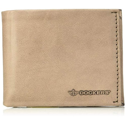 Men's Rfid Security Blocking Passcase Wallet