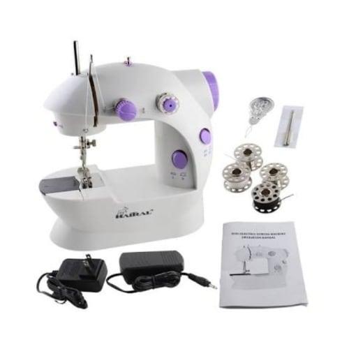 75002ef0431 Mini Sewing Machine - Sm-202 with Foot Pedal   Bobbins