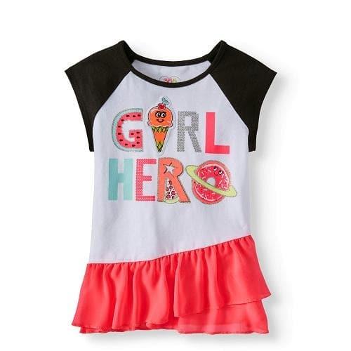 a94aa8920 Garanimals 365 Kids Peplum Raglan Girls Top   Konga Online Shopping