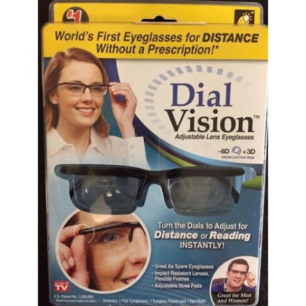 d3c84f63d7 Dial Vision Adjustable Lens Eyeglasses