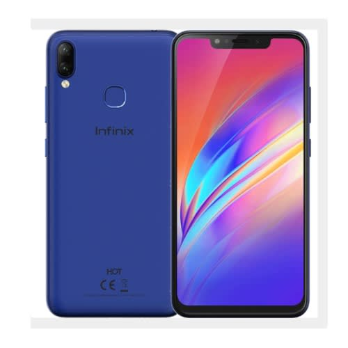 Hot 6x- Dual Sim- 16gb Rom- 2gb Ram- 4g Lte- Face Unlock- 4000 Mah- Fingerprint- Blue