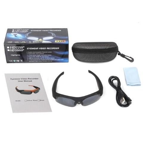7c9bf8a5533 HD 1080P Sunglasses Camera Mini Camcorder Eyewear Video Recorder ...