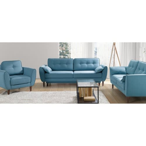 Clement Elegant Sofa Set In Blue. Lagos Delivery Only
