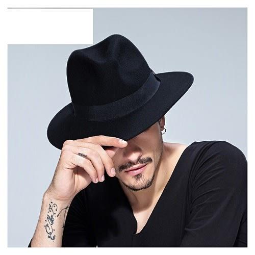 b9eec6e5e941fd Wide Brim Wool Fedora Hat - Black | Konga Online Shopping