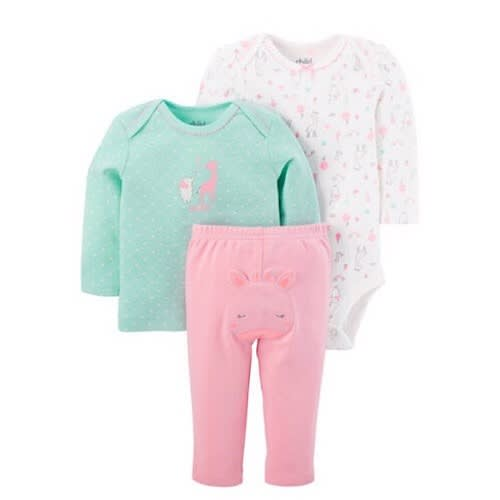 46f09aebf70d Child Of Mine Baby Girl 3 Piece Outfit Set