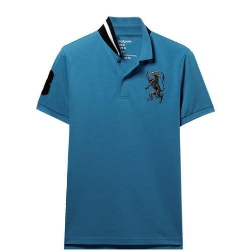 66c8b672 Men's Polo Shirt - Blue