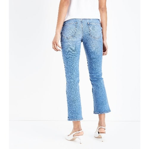 972066cac77da Cropped Flare Overbump Maternity Jeans - Blue | Konga Online Shopping