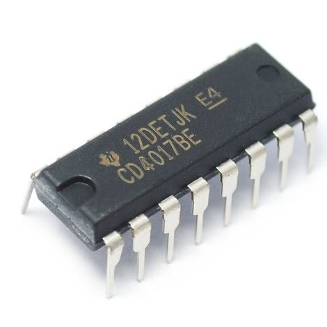 Cd4017 Decade Counter Ic - 6 Pcs