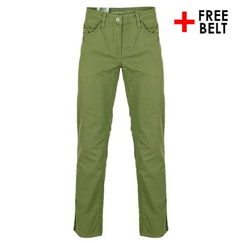 Green Chinos Trousers