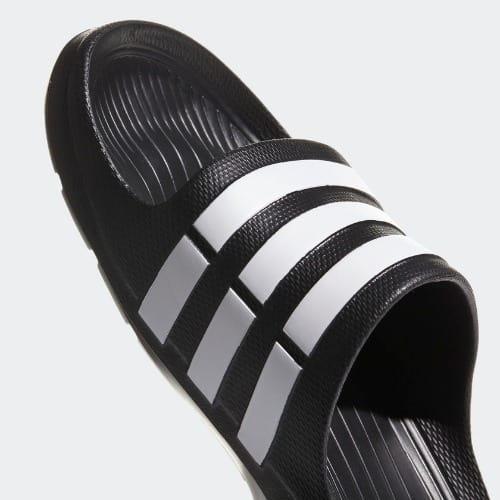 5895193708f adidas Adilette Slides - Black & White | Konga Online Shopping