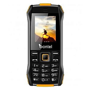 L400 Feature Phone With Big Torch Light, Bontel Cloud & 1,000 mAh Battery - Black